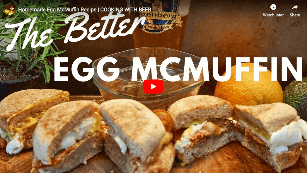 Breakfast McMuffin Recipe